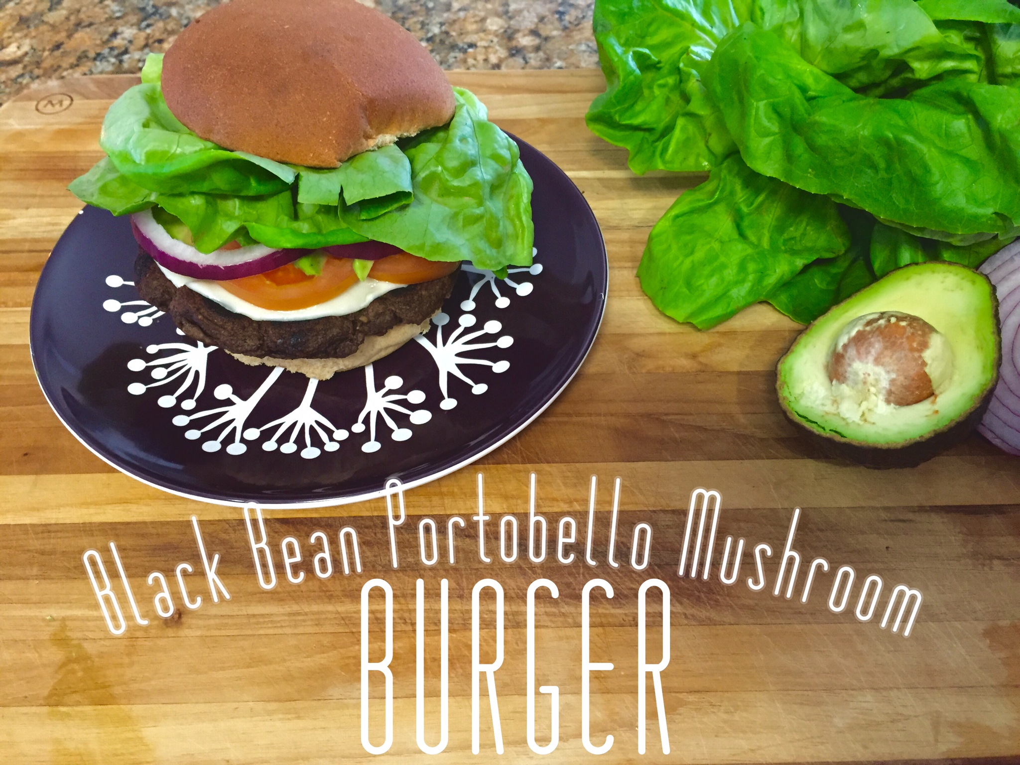 how to cook a portobello mushroom burger on the stove